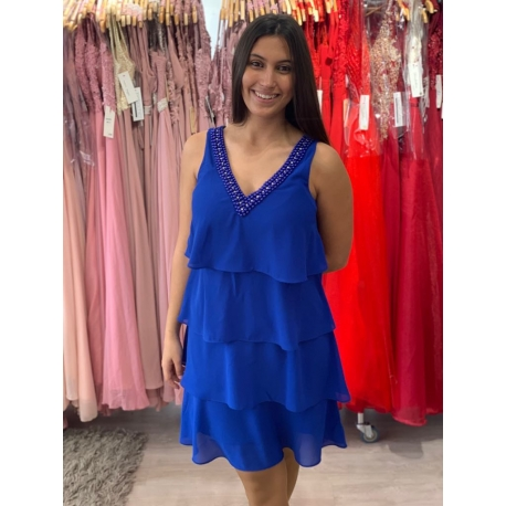 Vestido Alexia azulão