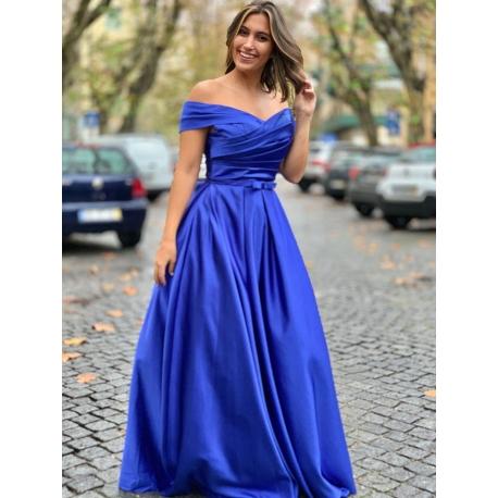 Charlotte azul royal